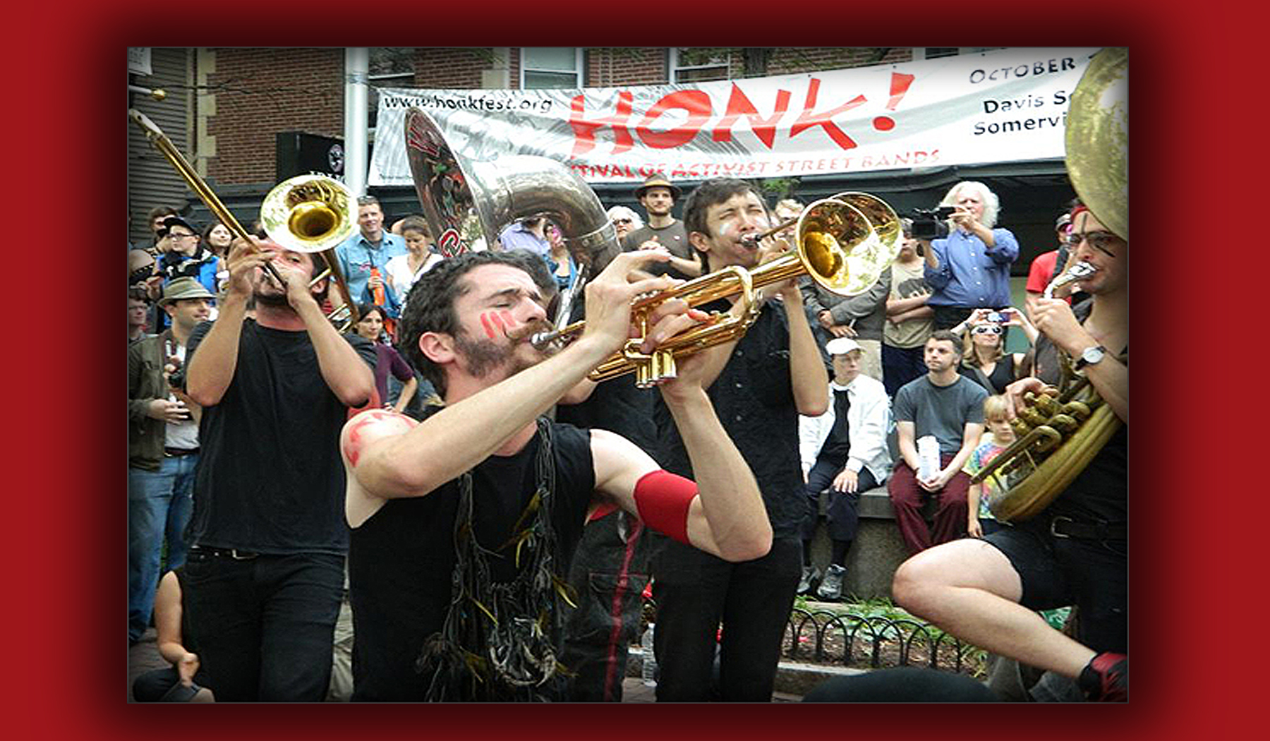 Street-wide Symphony of Sound: the Art of HONK!