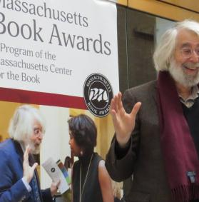 Lloyd at the Mass Books Award at the State House