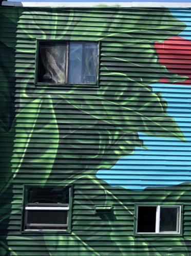 East Somerville mural by Angurria