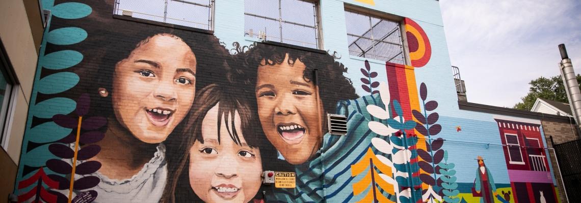 Amanda Hill, CHA Mural