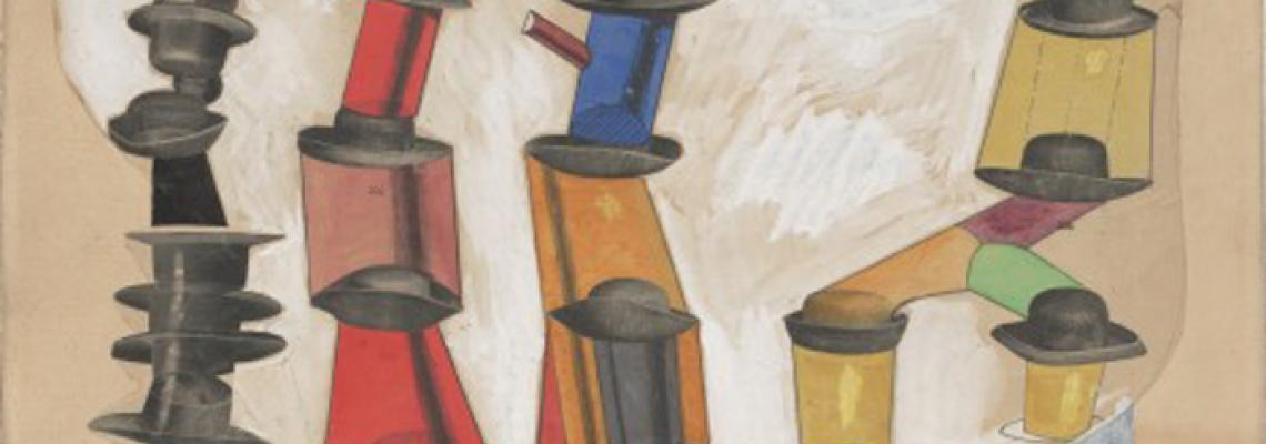 Max Ernst:  The Hat Makes the Man