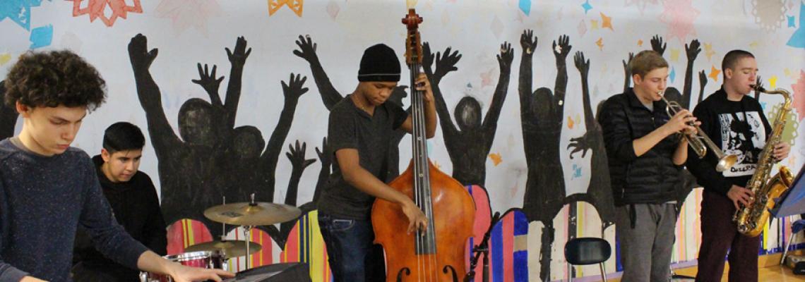 Somerville High School Jazz Band