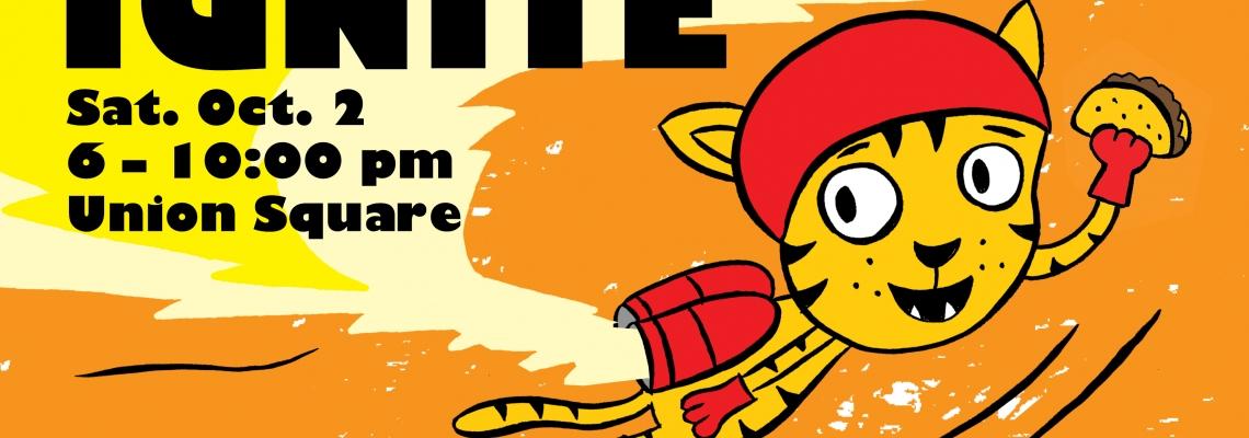 Ignite Artwork by: Jef Czekaj