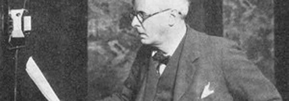 Irish poet William Butler Yeats