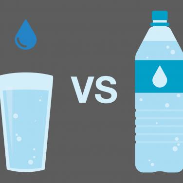 tap water v bottled water