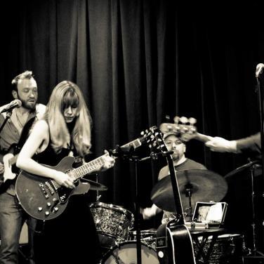 Danielle M & The Glory Junkies; photo by Neale Eckstein
