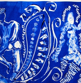 Dancing my Blues Away, work by Tori Weston
