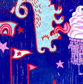 ArtBeat Flip theme; art work by Kari Percival